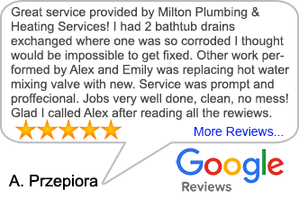 5 Star Google Plumber Reviews